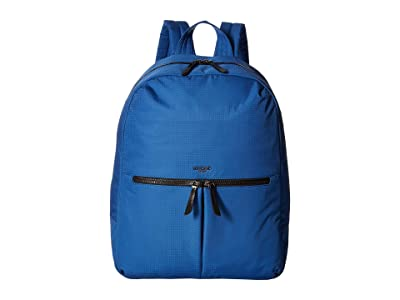 KNOMO London Dalston Berlin Backpack (Nautical Blue) Backpack Bags