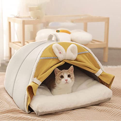 high quality Cat Beds for Indoor Cats, online sale Cat Houses, Small Dog Bed with Anti-Slip Bottom, Cat/Dog Tent Beds Washable Cat/Small Dog Cave, Puppy Bed with Removable Cotton Pad, new arrival Super Soft Calming Pet Sofa Bed outlet online sale