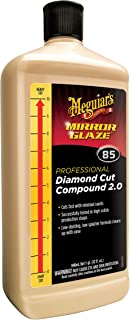 Meguiar's M8532 Mirror Glaze Diamond Cut Compound 2.0, 32 Fluid Ounces