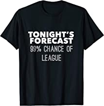 Tonight's Forecast: 99% Chance of League