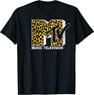 Logo Cheetah Print Graphic T-Shirt