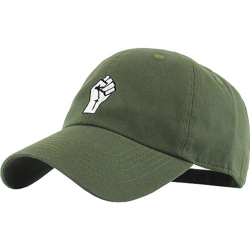 KBETHOS Fist Dad Hat Baseball Cap Unconstructed Polo Style Adjustable 93014b0e0110