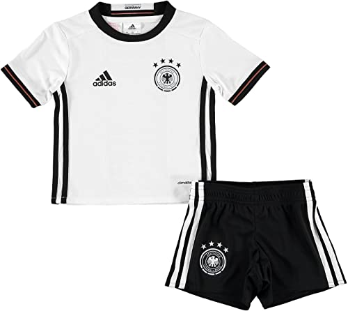 Adidas Allemagne Home Mini Kits [Blanc Noir]