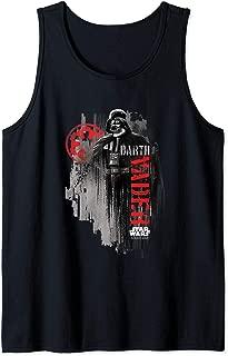 Star Wars Rogue One Darth Vader Empire Logo Portrait Tank Top