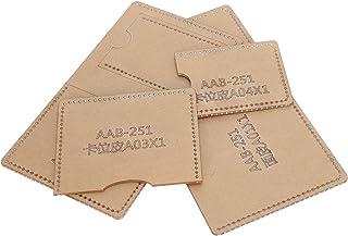 Modello in pelle acrilica, modello in acrilico fatto a mano, trasparente trasparente per borsa Portafoglio corto Portafogl...