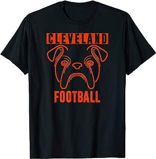 Cleveland Distressed Favorite Gotta Eat Football Fan | Dawg T-Shirt