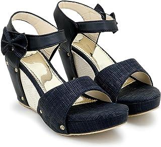 Matroo Woman Trending Stylish Fancy and Comfort wedge heel Fashion Sandal