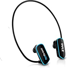 Waterproof MP3 Player Swim Headphone Submersible IPX8 Flexible WrapAround Style Headphones Builtin Rechargeable Battery US... photo