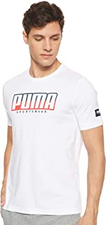Puma Men's Athletics Big Logo T-Shirt