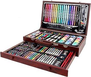 ARTOYS malette Dessin,123 pièces Set de Dessin Enfant,Kit Dessin,Enfants Dessin Artiste Kit,Crayons de Couleur,Peinture Ac...