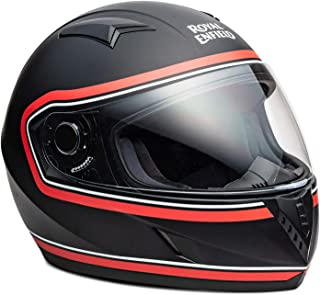Royal Enfield Black & Red Full Face With Visor Helmet Size (M)58 CM (RRGHEK000001)