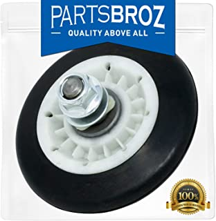 4581EL2002C Drum Support Roller Assembly for LG Dryers by PartsBroz - Replaces Part Numbers AP5688895, 2701044, 4581EL2002A, 4581EL2002B, 4581EL2002D, 4581EL2002E, 4581EL3001C, 4581EL3001F, PS8260240