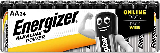 Energizer AA Batteries, Alkaline Power Double A Batteries, 24 Pack