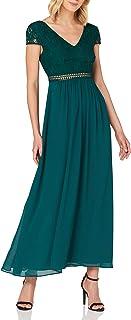 Amazon-Marke: TRUTH & FABLE Damen Maxi Chiffon-Kleid mit A-Linie