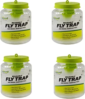 RESCUE! FTR Reusable Fly Trap (Old Version) - 4 Pack