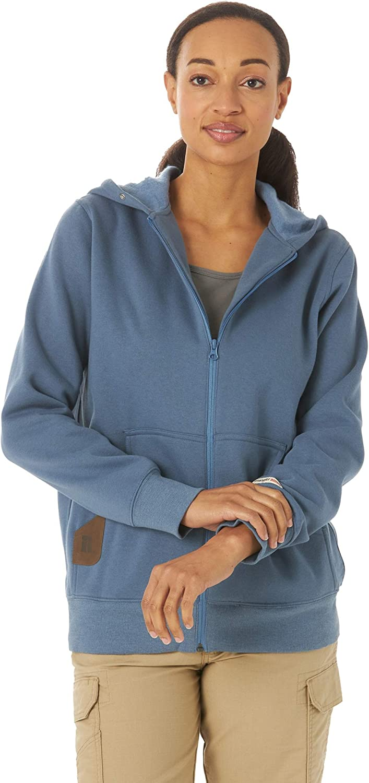 Wrangler Super intense SALE Fresno Mall Riggs Workwear Women's Hoodie Full-Zip Sweatshirt