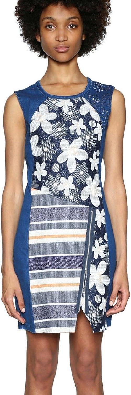 Desigual Dress No Sleep 18SWVD14 (bluee)