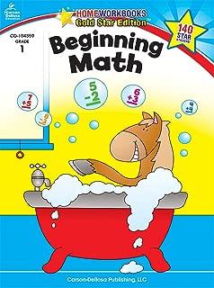 Beginning Math, Grade 1 (Home Workbooks)