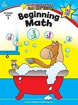 Carson Dellosa | Beginning Math Workbook | 1st Grade, 64pgs (Home Workbooks)