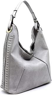 Handbag Republic Classic Hobo w/Perforated Accents