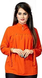 1 Stop Fashion Women's Crepe Digital Printed Ready Wear Top