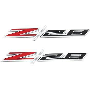 OEM GM Rear Trunk Lid Z//28 Emblem Badge Red /& Black 14-15 Camaro 22908036