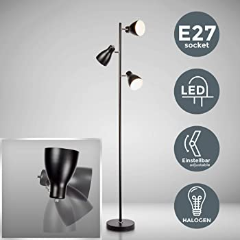 S115# Lampadaire simple HO style ancien éclairage LED CMS blanc chaud