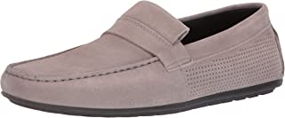 HUGO by Hugo Boss Mens 50407732 Travelling Dandy Suede Perforated Moccasin