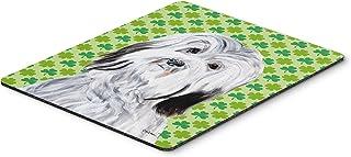 Caroline's Treasures Havanese Lucky Shamrock St. Patrick's Day Mouse Pad/Hot Pad/Trivet (SC9737MP)