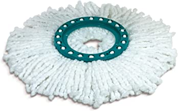 Leifheit L52095 Replacement Head Disc Mop, White