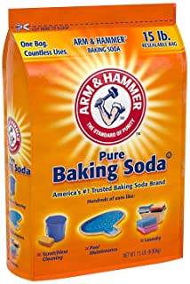 Arm & Hammer Baking Soda, 15 Pound (2 Pack)