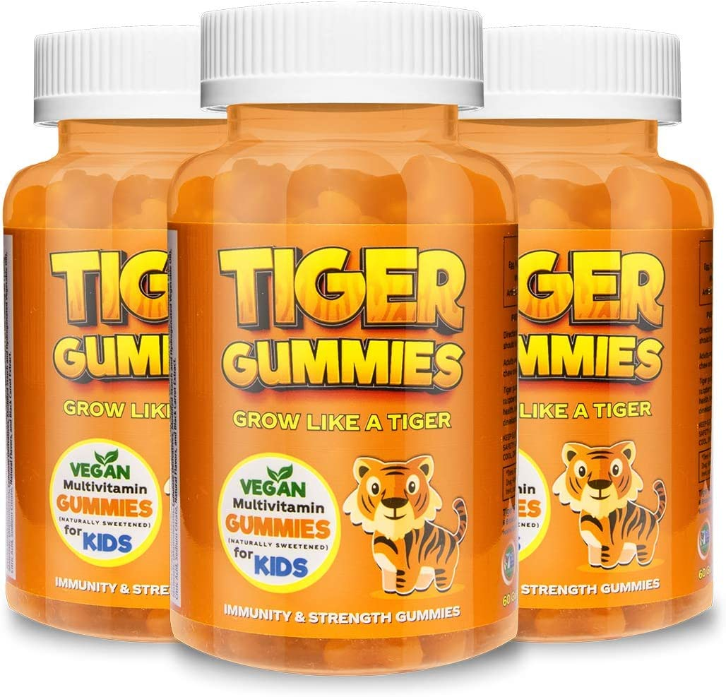 All-in-One Kids Multivitamin by Tiger 22 Al Gummies Outlet San Antonio Mall SALE Immunity -
