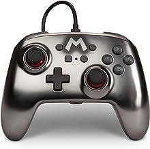 Powera 1517917-01 Controle P/ Nsw Wired Controller Mario Silver Metallic - Nintendo Switch