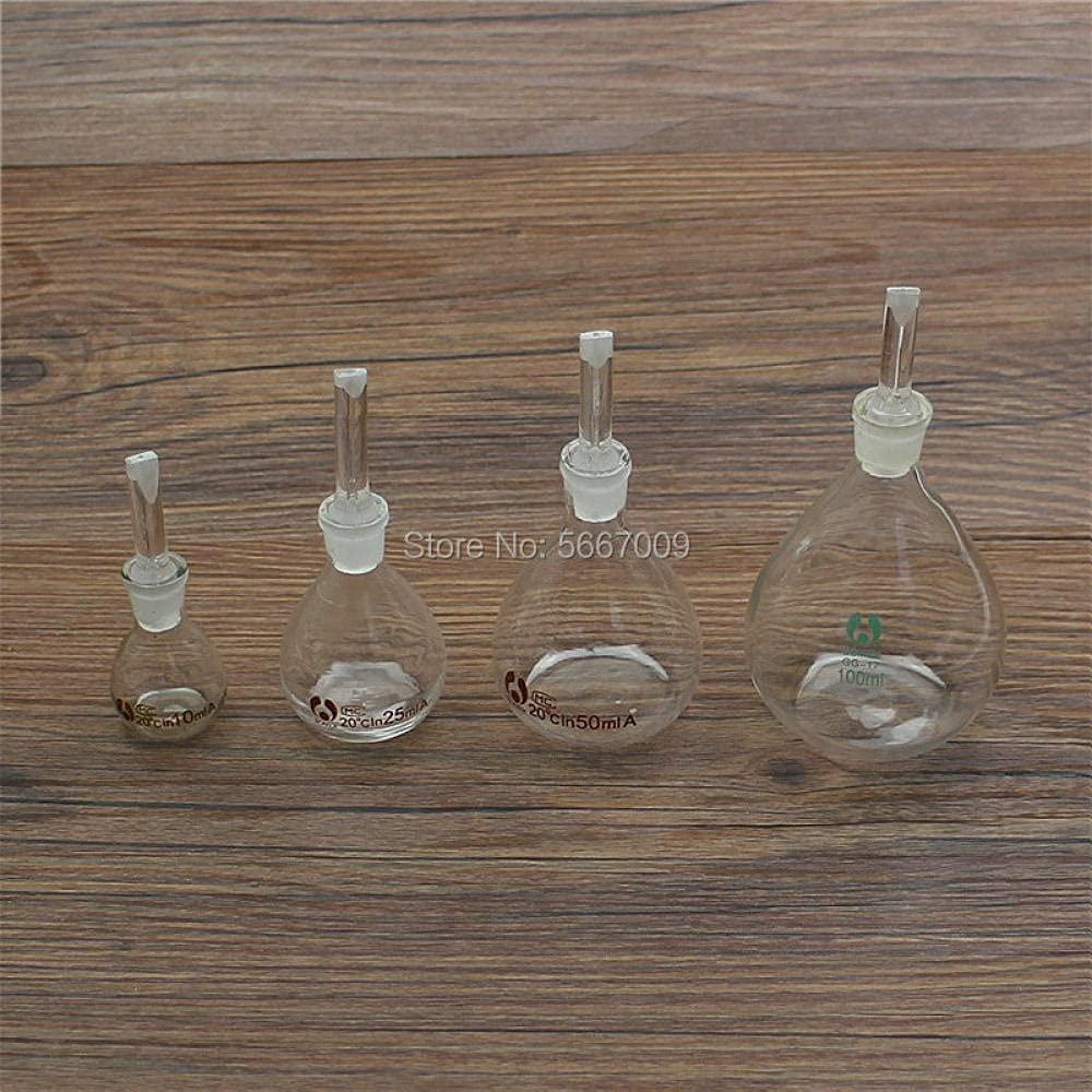 1pc Lab 5ml 10ml 20ml 25ml 100ml Glass Pycnometer Japan Maker New shopping Ball-Shap 50ml