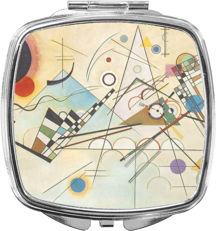 Kandinsky 2021new shipping free Composition 8 Philadelphia Mall Compact Mirror Makeup