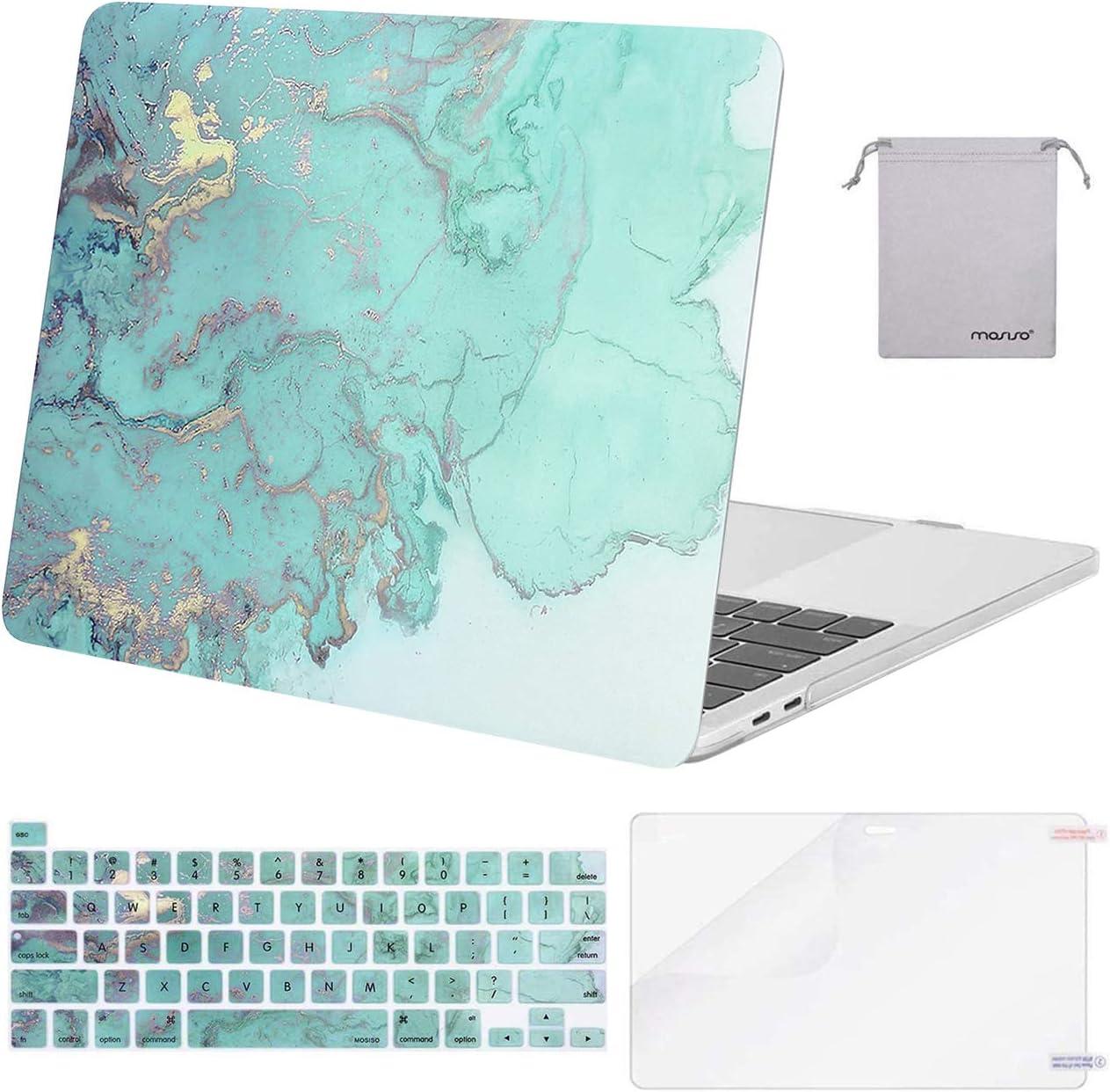 MOSISO Compatible with MacBook Pro 13 Case Releas inch Trust Soldering 2016-2020