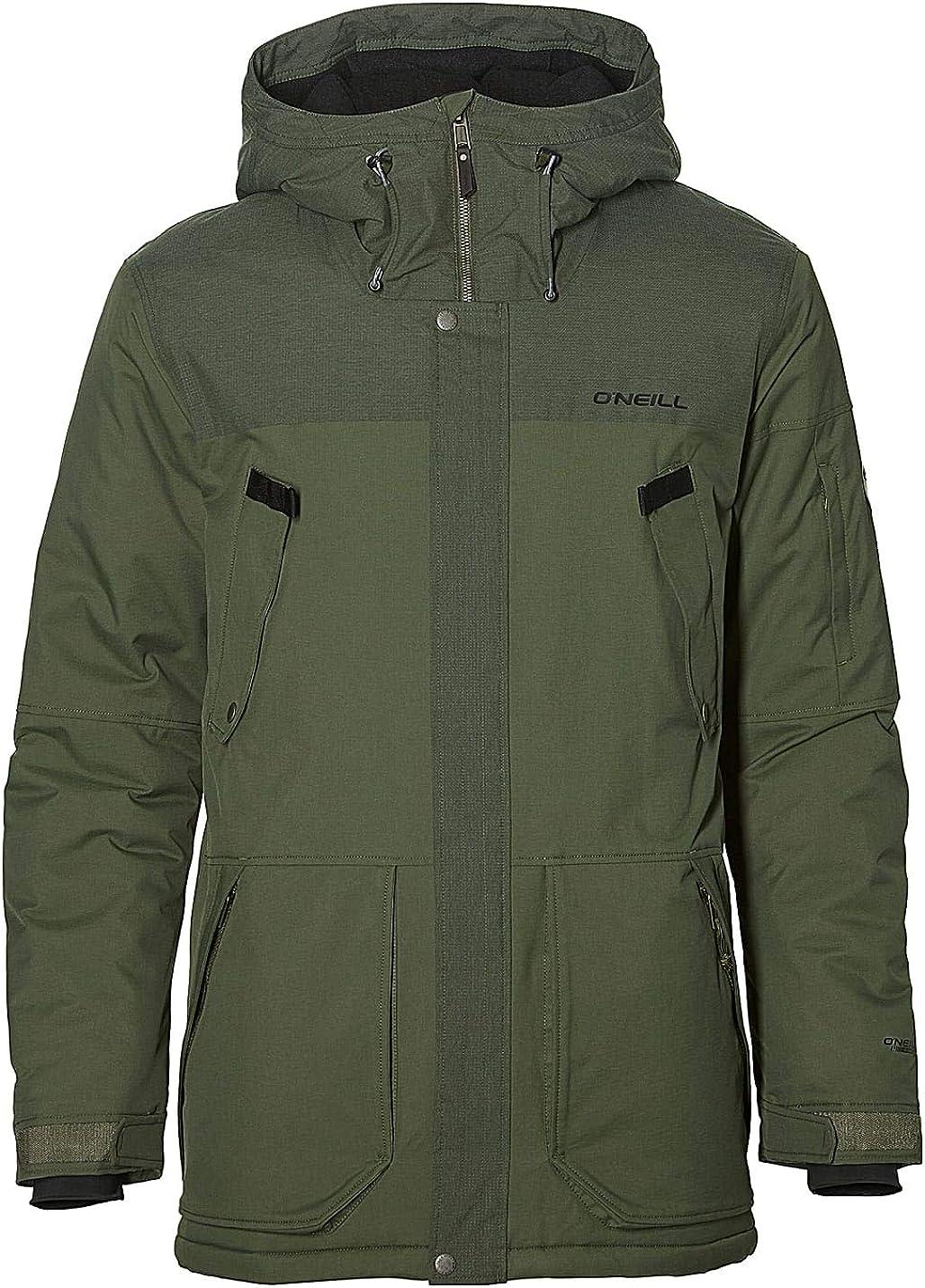 ONeill Herren Snowboard Jacke Hybrid Explorer Parka Jacket Jacken