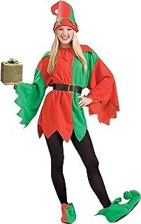 Men's Unisex Elf Costume