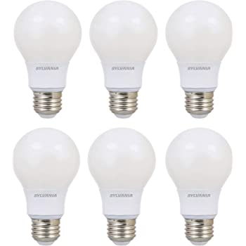SYLVANIA 100 Watt Equivalent A21 LED Light Bulbs Soft White Color 2700K 16 Pack 40315 Made in the USA with US and Global Parts Dimmable