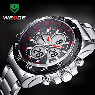 WD-1103 Weide Brand Stainless Steel Men Business Casual Watch