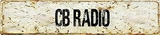 antique radio decals