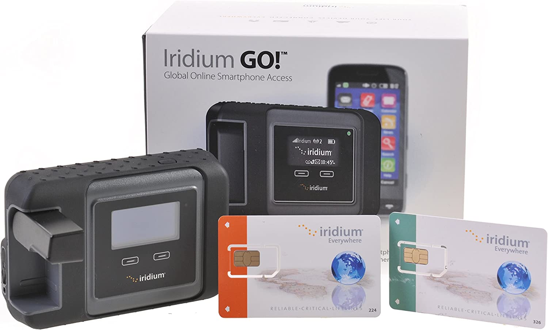 Iridium ¡Vamos! Satélite WiFi Hotspot 1. Iridium Go! Satélite WiFi Hotspot Multicolor