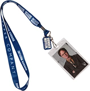 The Office Dunder Mifflin Paper Company Dwight Schrute Lanyard