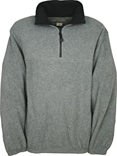 Colorado Timberline Steamboat Fleece Pullover Charcoal Small