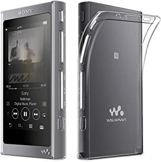 AVIDET Sony Walkman NW-A30シリーズ / NW-A40シリーズ NW-A47 / NW-A45 / NW-A46HN / NW-A45HN ケース 衝撃吸収バンパー アンチスクラッチ ソフト TPU ケース (クリア)
