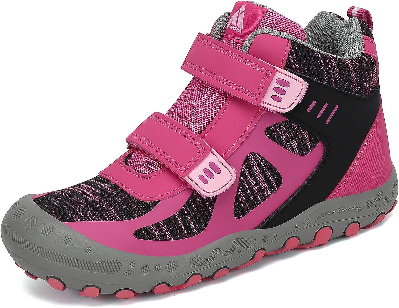 Mishansha Outdoor Ankle Hiking Boots Trekking Charlotte Mall Walking Girls Detroit Mall Boys