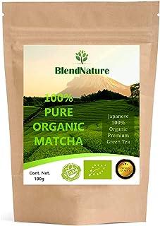 Té Verde Matcha Orgánico Japonés 100gram. Premium Bio -