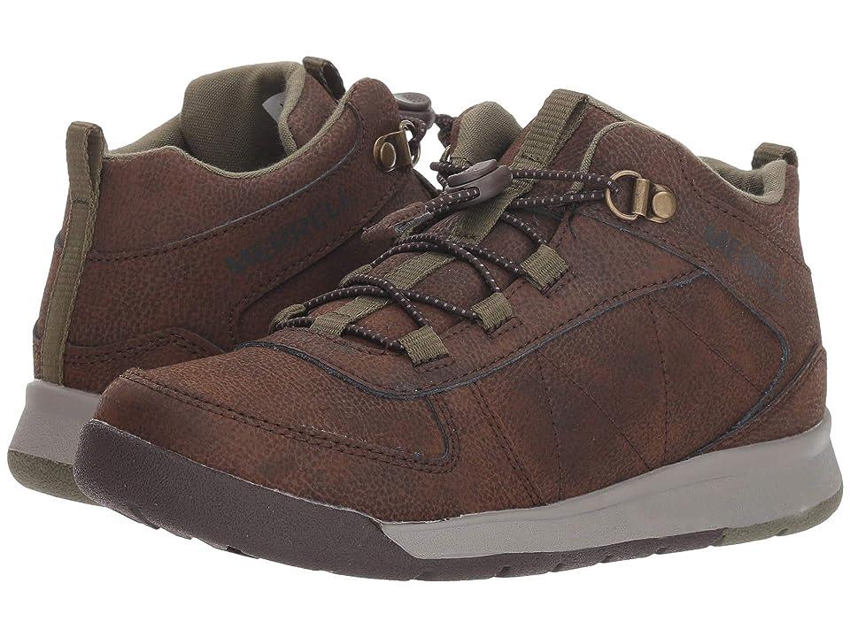 Merrell Kids Burnt Rock (Little Kid) (Brown) Boys Shoes