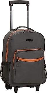 Double Handle Rolling Backpack