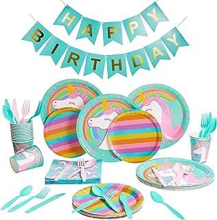 Best rainbow unicorn party decorations Reviews